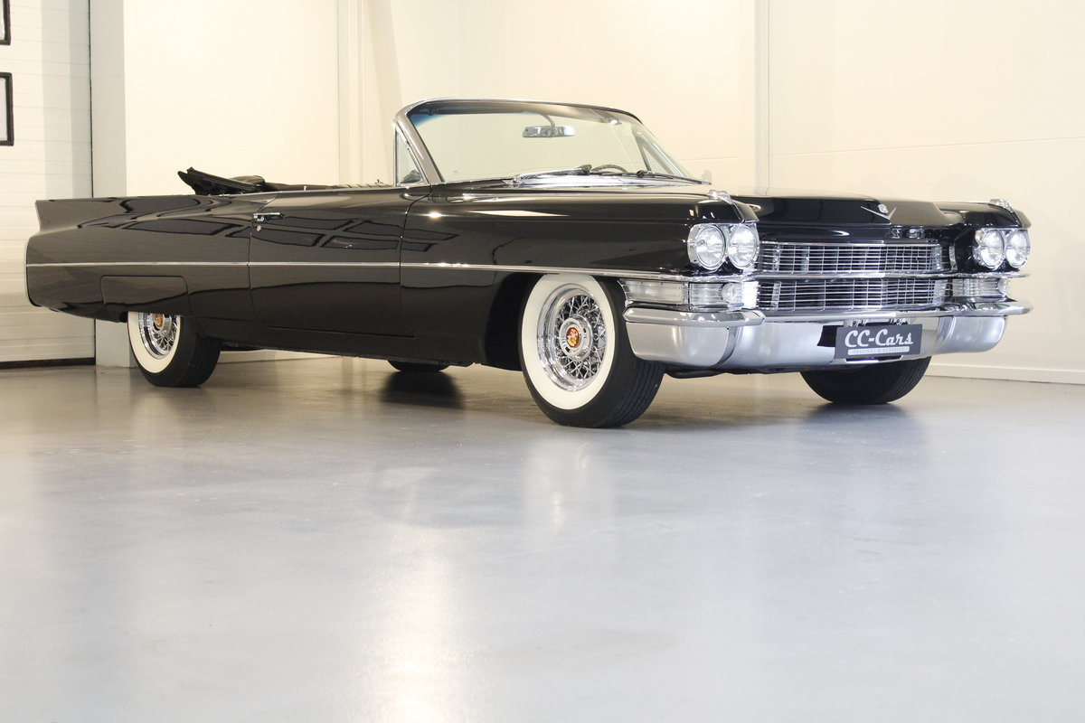 1963 Cadillac Serie 62 6.4 Convertible - newly restored For Sale (picture 1 of 6)