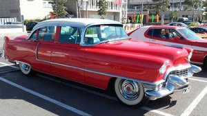 Cadillac Sedan de Ville 1955. For Sale