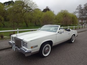 1984 Cadillac ELdorado Biarritz Convertible For Sale