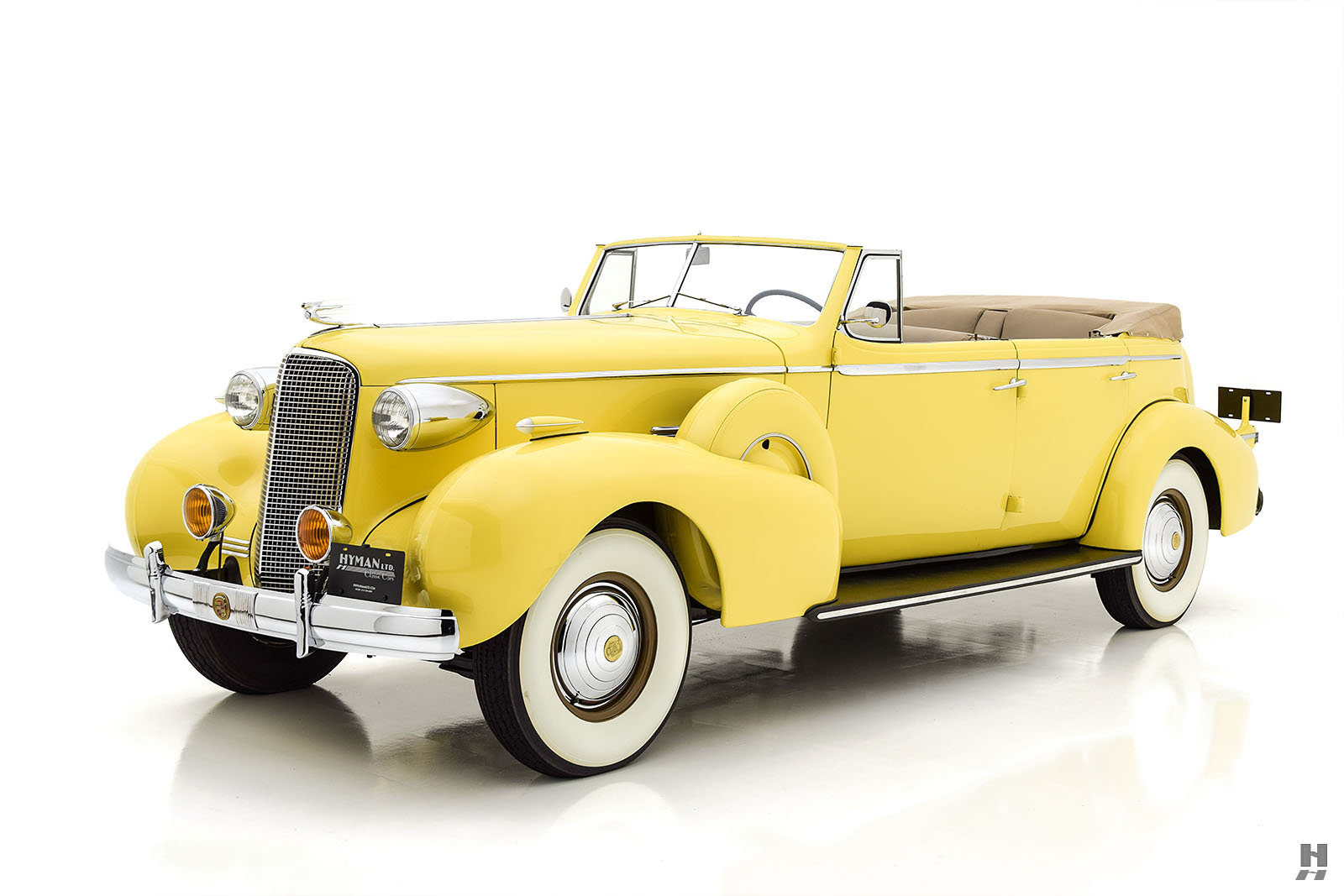 1937 CADILLAC SERIES 75 CONVERTIBLE SEDAN For Sale (picture 1 of 6)