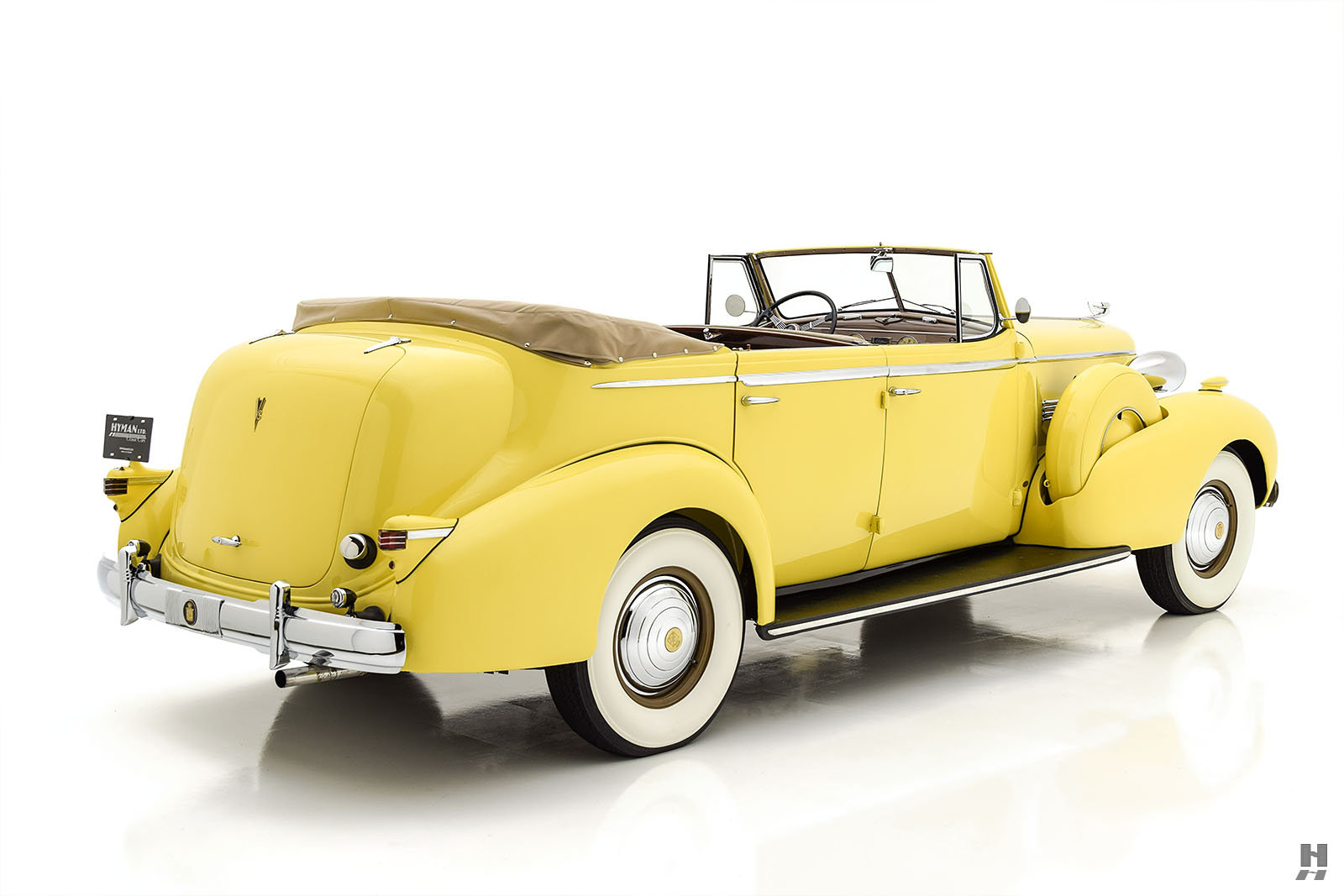 1937 CADILLAC SERIES 75 CONVERTIBLE SEDAN For Sale (picture 5 of 6)