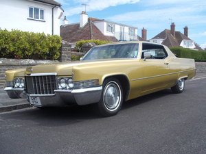 1970 Cadillac coupe de ville rare find in this cond For Sale