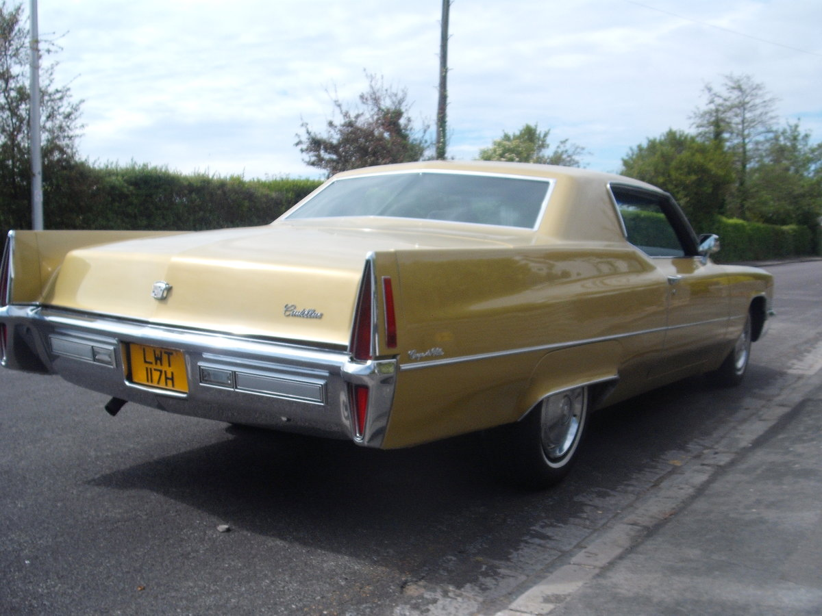 1970 Cadillac coupe de ville rare find in this cond For Sale (picture 2 of 6)