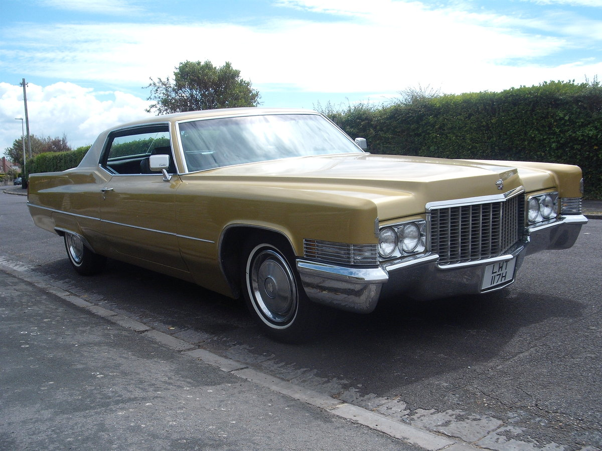 1970 Cadillac coupe de ville rare find in this cond For Sale (picture 3 of 6)