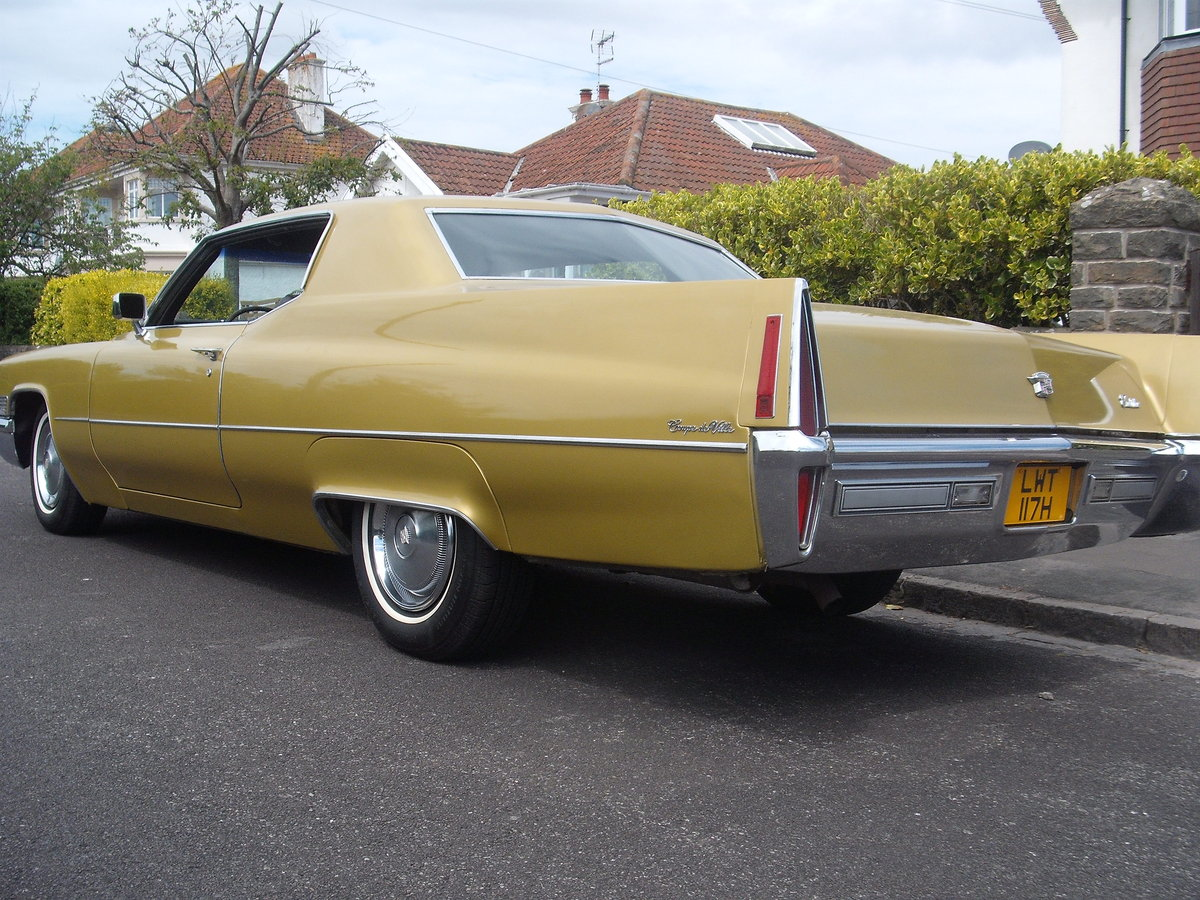 1970 Cadillac coupe de ville rare find in this cond For Sale (picture 4 of 6)