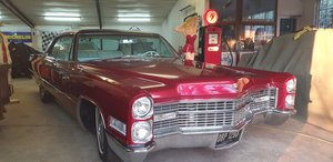 1966 Very clean straight cherry apple Cadillac coupe For Sale