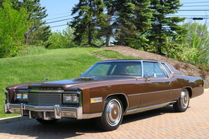 Stunning 1977 Cadillac Eldorado for sale For Sale