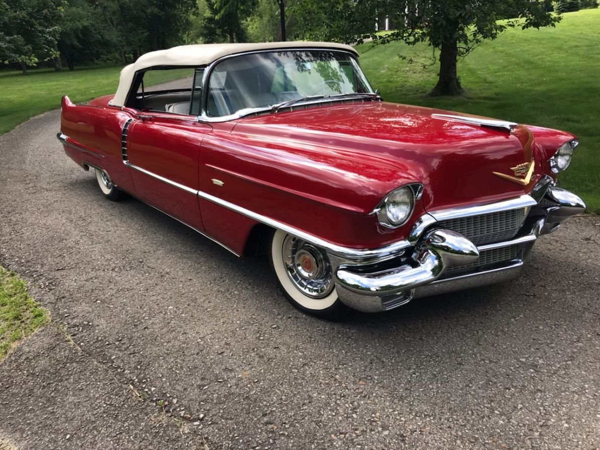 1956 cadillac series 62 convertible For Sale (picture 1 of 5)