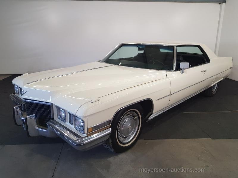 Cadillac Coupe de Ville 1972  For Sale by Auction (picture 1 of 6)