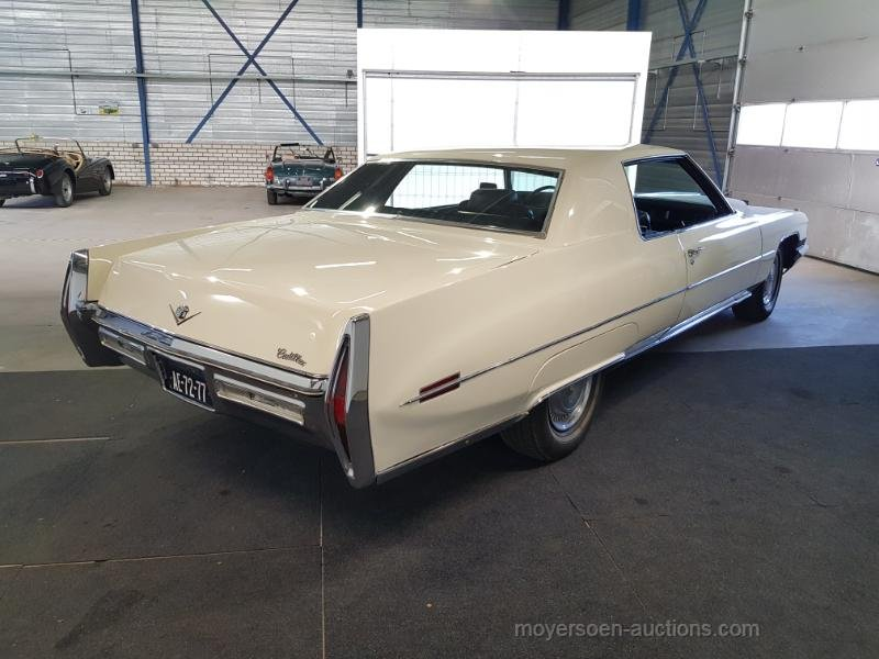 Cadillac Coupe de Ville 1972  For Sale by Auction (picture 3 of 6)