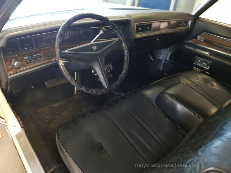 Cadillac Coupe de Ville 1972  For Sale by Auction (picture 4 of 6)
