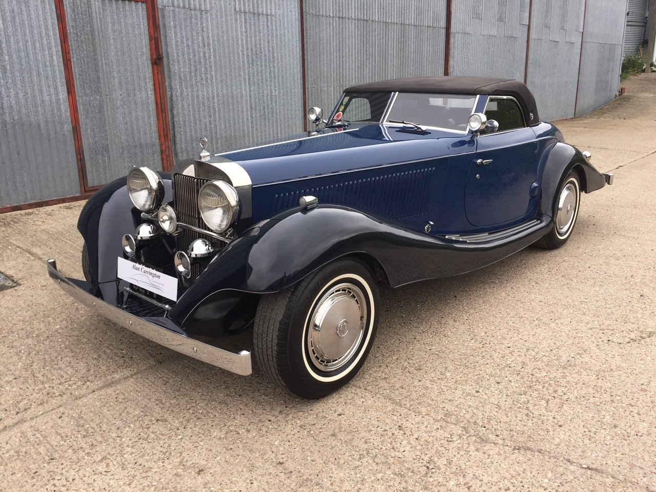 1979 Unique all alloy Cadillac Roadster For Sale (picture 1 of 12)
