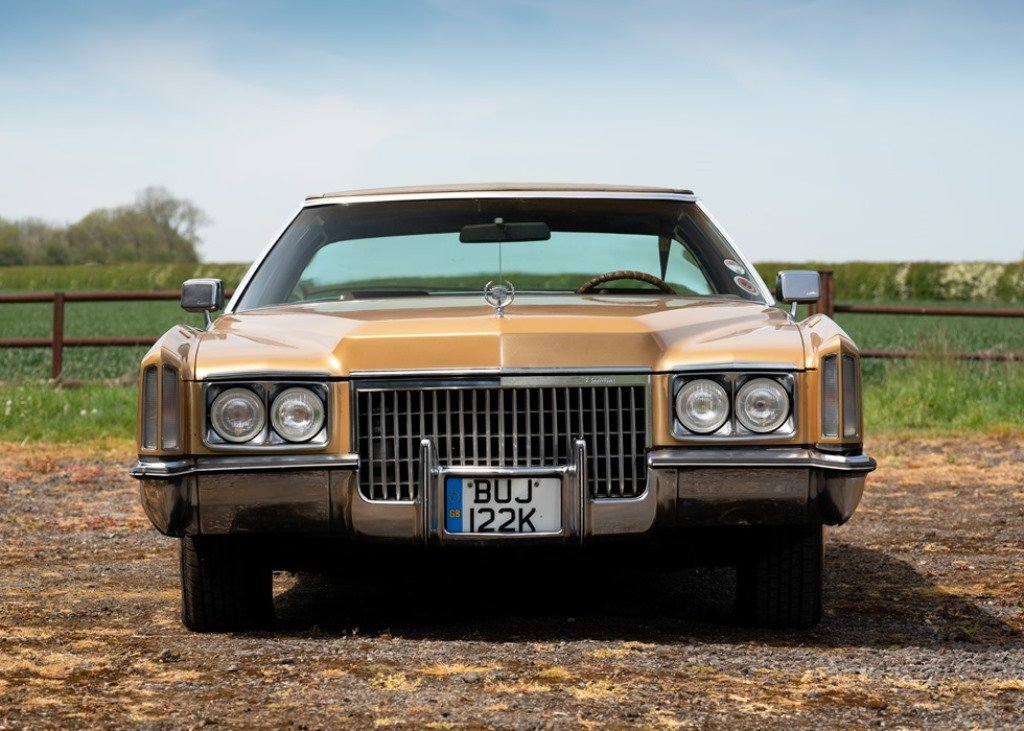 1972 Cadillac Eldorado Coup (Generation Seven) SOLD by Auction (picture 1 of 6)