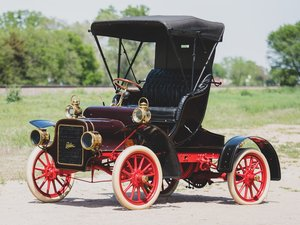 1906 Cadillac Model K Runabout Victoria Runabout For Sale by Auction