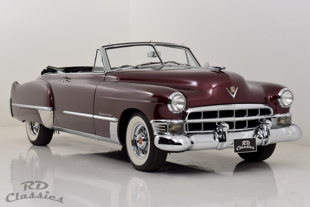 1949 Cadillac Series 62 Convertible For Sale (picture 1 of 6)