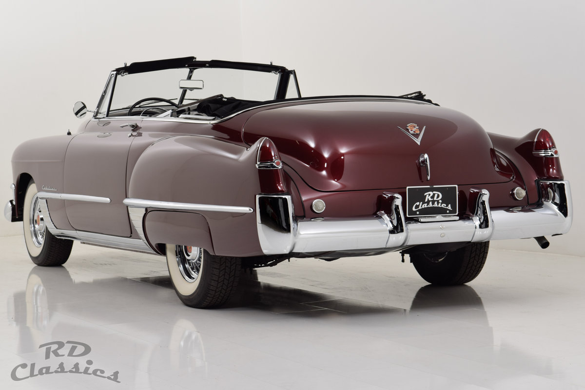 1949 Cadillac Series 62 Convertible For Sale (picture 2 of 6)