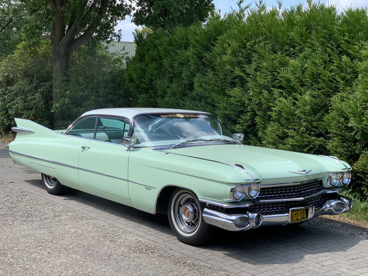 1959 Cadillac Coupe de Ville For Sale (picture 1 of 6)