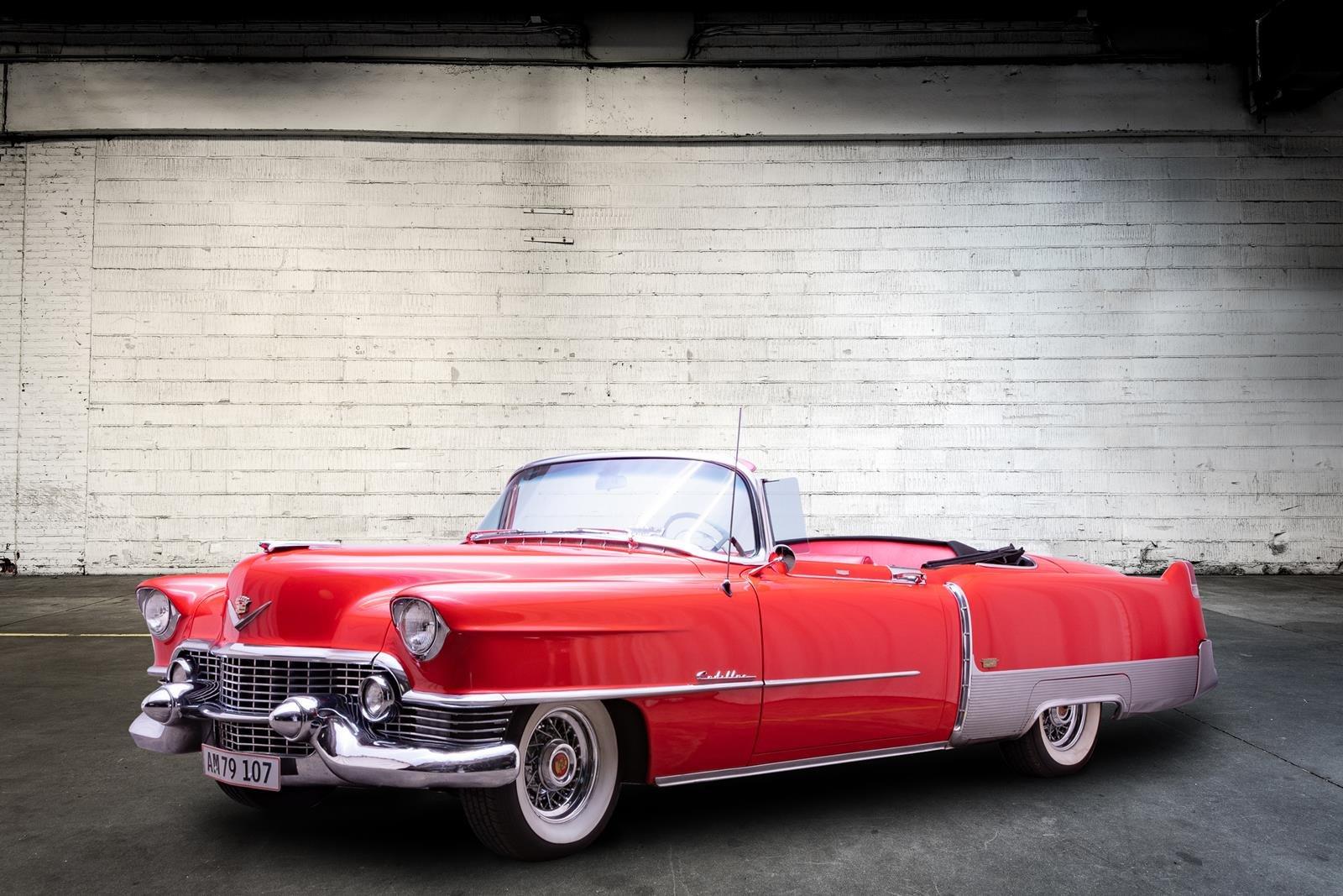 Cadillac Eldorado Convertible 6,5L 1954 For Sale (picture 1 of 6)
