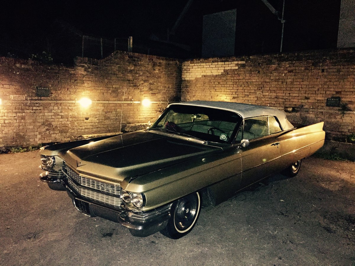1963 Cadillac DeVille convertible For Sale (picture 1 of 3)