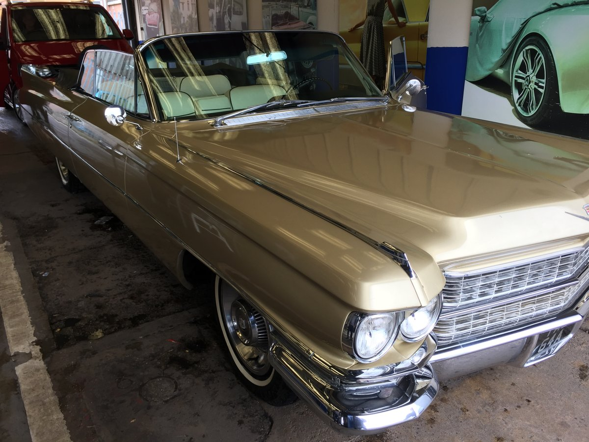 1963 Cadillac DeVille convertible For Sale (picture 2 of 3)