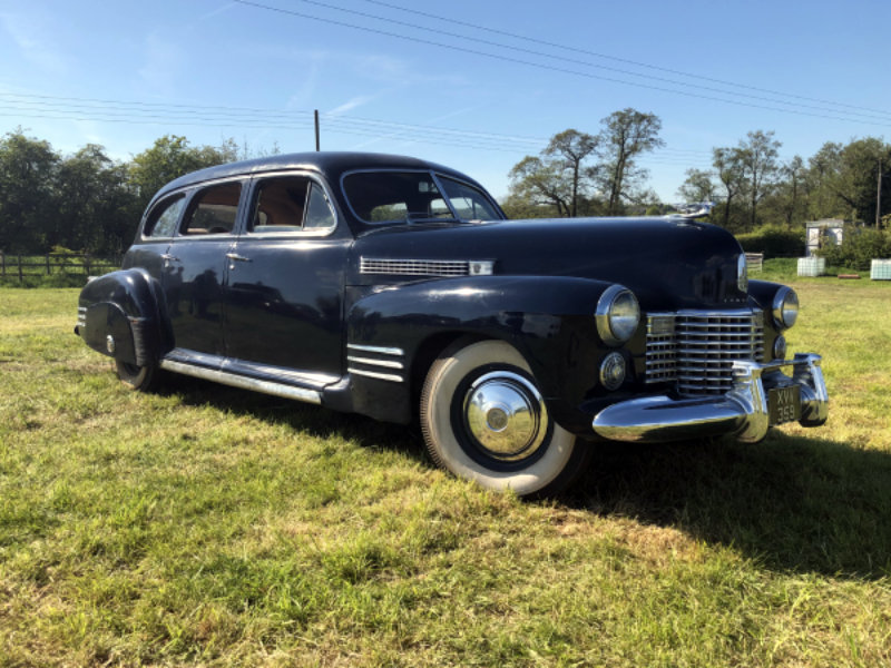 1941 Cadillac Series 62 Formal Limousine For Sale (picture 1 of 6)