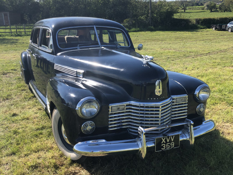 1941 Cadillac Series 62 Formal Limousine For Sale (picture 2 of 6)