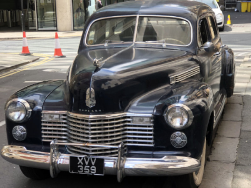 1941 Cadillac Series 62 Formal Limousine For Sale (picture 3 of 6)