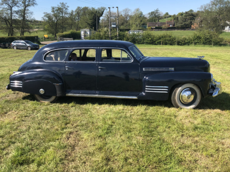 1941 Cadillac Series 62 Formal Limousine For Sale (picture 6 of 6)