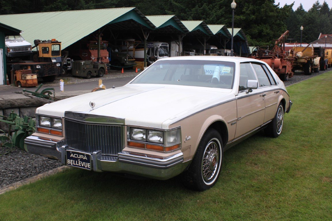 1981 Cadillac 4 Dr. - Lot 603 For Sale by Auction (picture 1 of 4)