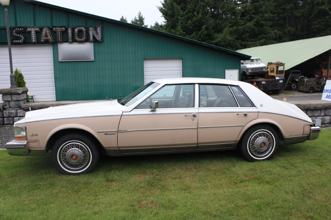 1981 Cadillac 4 Dr. - Lot 603 For Sale by Auction (picture 2 of 4)