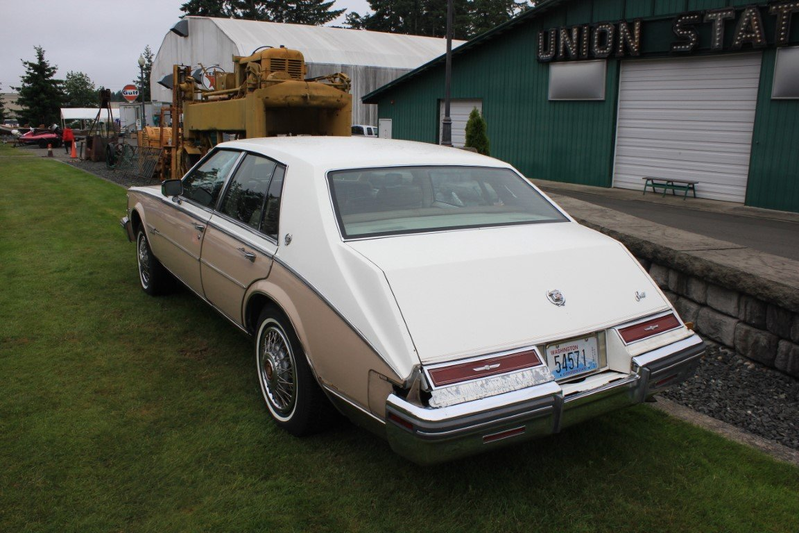 1981 Cadillac 4 Dr. - Lot 603 For Sale by Auction (picture 3 of 4)
