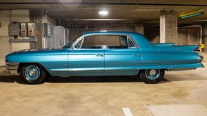 1961 Cadillac Fleetwood Sixty Special Sedan Turquoise $29.9k