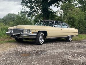 1973 Cadillac Fleetwood Brougham For Sale