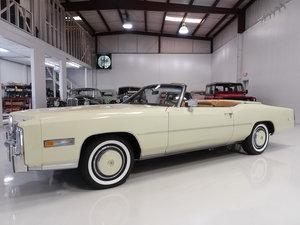 Original 1976 Cadillac Eldorado Convertible For Sale
