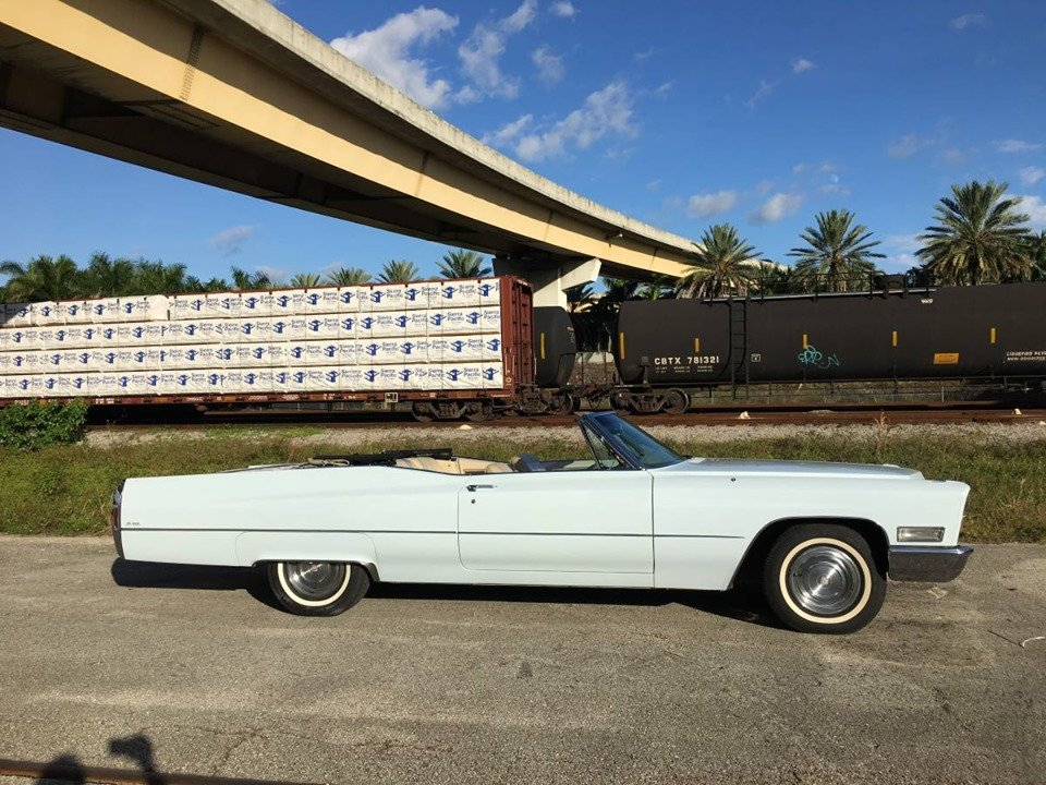 1968 Cadillac DeVille (Fort Lauderdale, FL) $29,900 obo For Sale (picture 2 of 6)