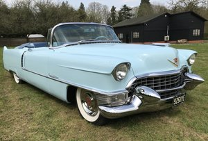 STUNNING 1955 CADILLAC SERIES 62 CONVERTIBLE  For Sale