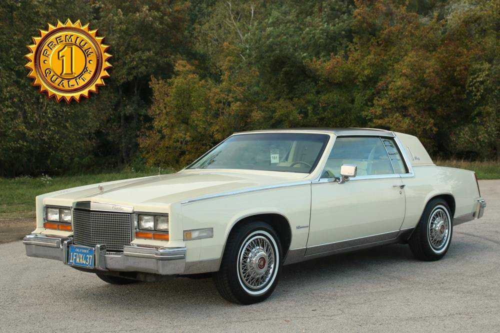 1981 Cadillac Eldorado Biarritz 6.0 Liter V8 For Sale (picture 1 of 6)