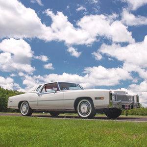 1977 Cadillac Eldorado Biarritz = low 24k miles Ivory $27.5k For Sale