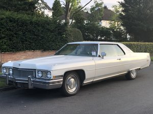 1973 Cadillac Coupe Deville v8