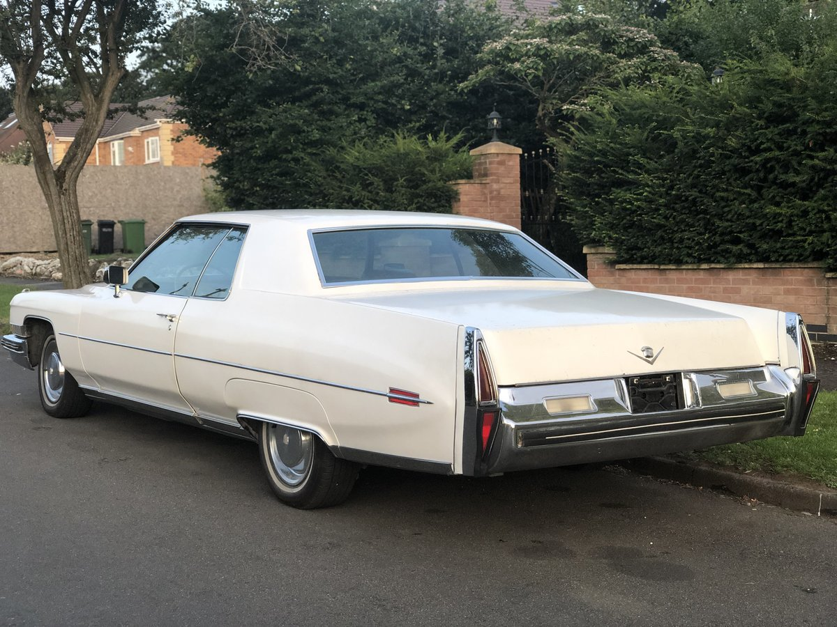 1973 Cadillac Coupe Deville v8 For Sale (picture 2 of 5)