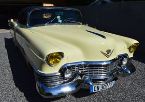 1954 Cadillac convertible - frame off restored