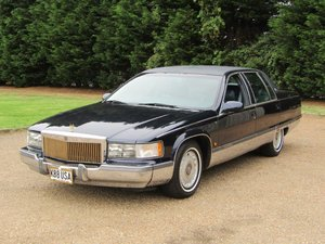 1995 Cadillac Fleetwood Brougham LHD at ACA 24th August  For Sale