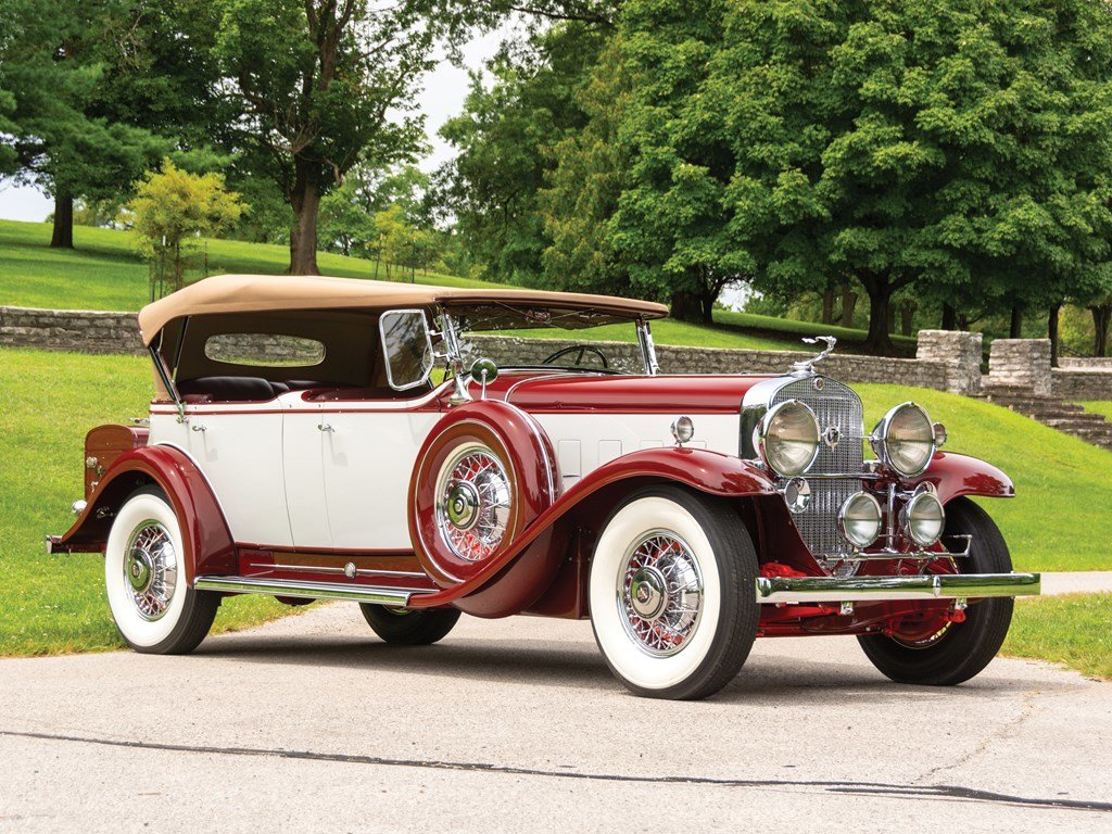 1931 Cadillac V-12 Phaeton  For Sale by Auction (picture 1 of 6)