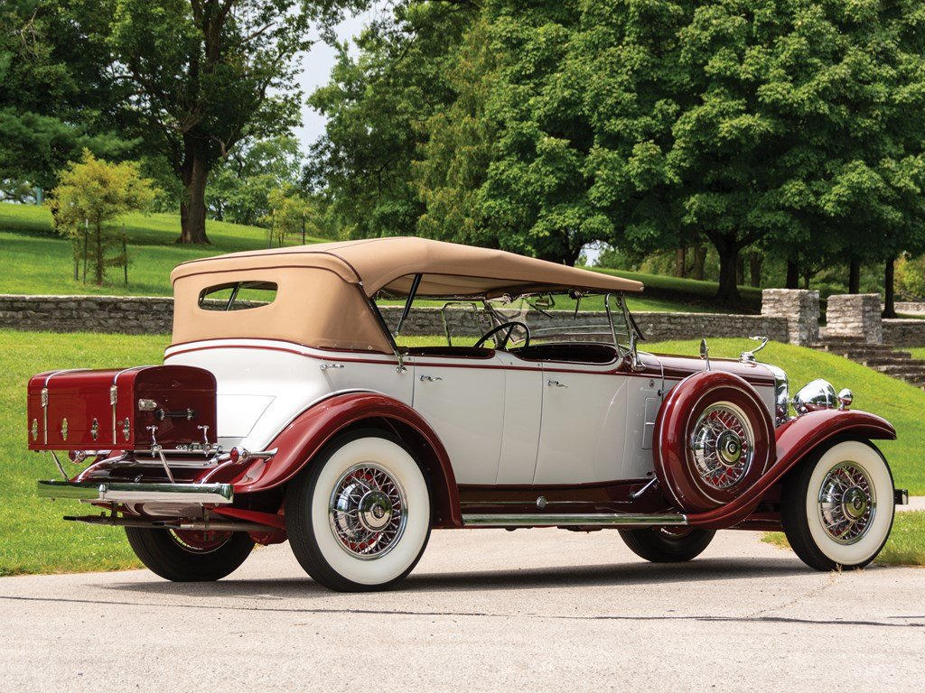 1931 Cadillac V-12 Phaeton  For Sale by Auction (picture 5 of 6)