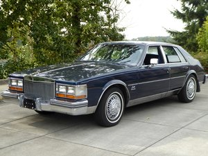 1980 Cadillac Seville 4 Door Sedan only 5k miles  Blue $9.9k For Sale