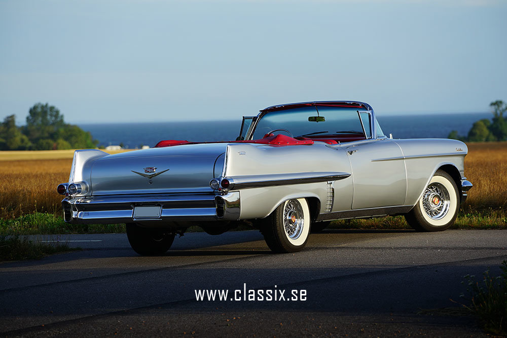 Cadillac Convertible 1957 top restored, like new For Sale (picture 4 of 6)
