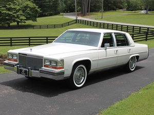 1988 Cadillac Brougham  For Sale by Auction