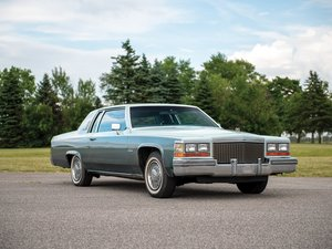 1981 Cadillac Coupe DeVille  For Sale by Auction
