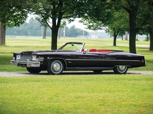 1973 Cadillac Eldorado Convertible Indy 500 Pace Car Replica For Sale by Auction