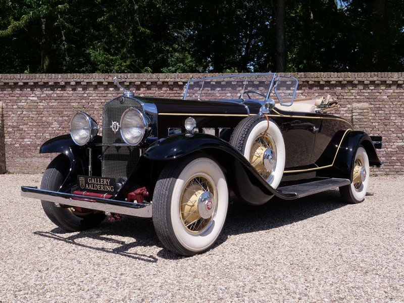 1931 Cadillac V8 Roadster Model 355A by Fleetwood For Sale (picture 1 of 6)